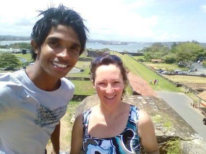 Rucksack Sri Lanka allein reisen Frau